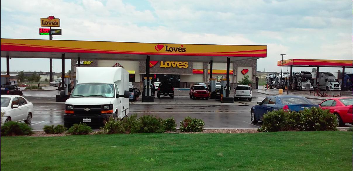 Love's In Pueblo, Colorado.