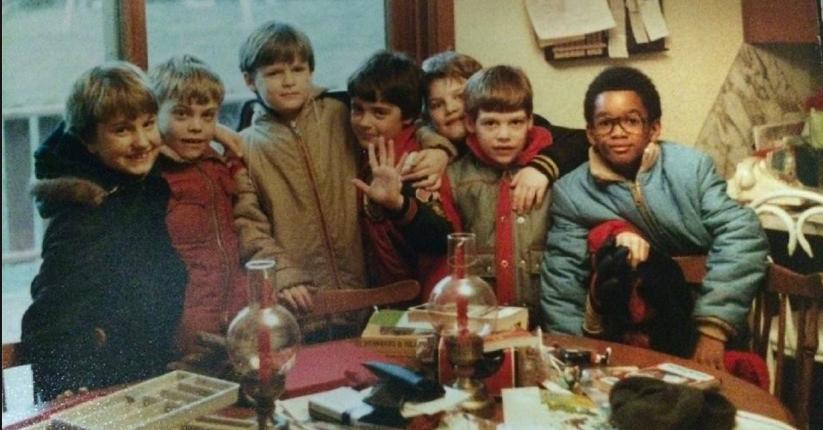 My homies and I. Circa 1979.
