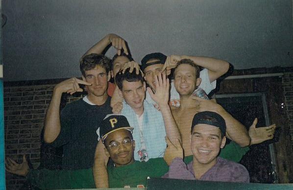 Crazy seniors (and a junior and a college freshman): Donnie, Kyle, Chris, Matt, Blake, and Matt.