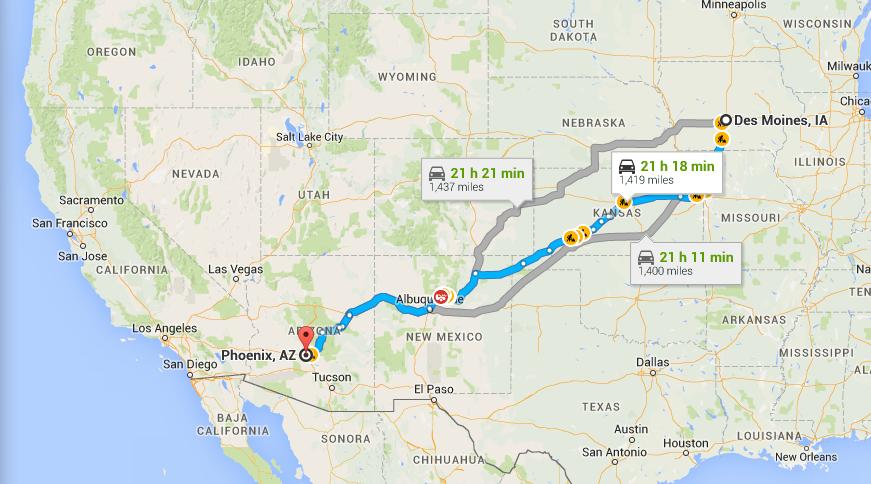 Kansas Routes